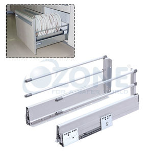 OZONE ERGOTEC DRAWER SYSTEM - DOUBLE RAIL, 199mm x 550mm