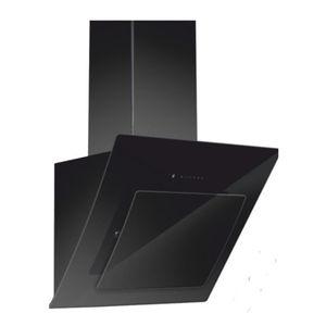 CARYSIL APPLIANCES - STANDARD WALL MOUNTED BLACK BODY GLASS CHIMNEY BLUES, 90cm