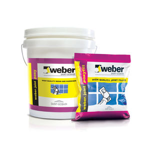 WEBER TOTAL EPOXY SYSTEM - JOINT FILLERS (1KG RESIN, 500 GM HARDENER AND 4 KG FILLER) (5.5KG)