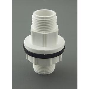 AJAY UPVC FITTINGS - TANK NIPPLE, 1 1/2  40mm