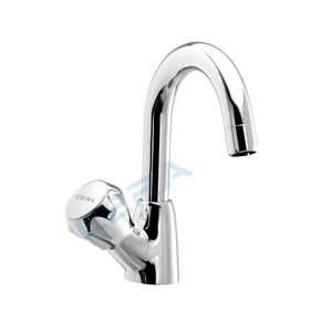 CERA OCEAN SERIES - F2006104 SWAN NECK TAP WITH ROUND SPOUT (LEFT)