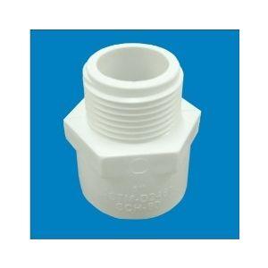 PRINCE UPVC FITTINGS - MTA (PLASTIC), 3/4  20mm