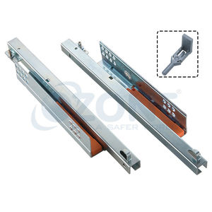 OZONE ERGOTEC DRAWER SLIDES - UNDERMOUNT PUSH OPEN, 400mm