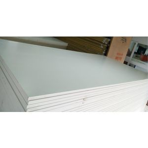 ALSTONE WOOD POLYMER COMPOSITE BOARD (8 x 4 FEET) - HYBRIDE (FROSTY WHITE), 8 mm