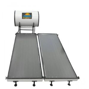 THESAN ENERGY - REGULAR FLAT PLATE SOLAR WATER HEATER, 500 lpd