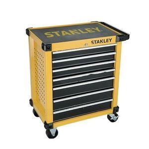 STANLEY TOOLS STORAGE - 7 DRAWER ROLLER CABINET (674x459x857mm)