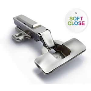 GODREJ FURNITURE FITTINGS - CLIP ON SOFT HINGE, inset