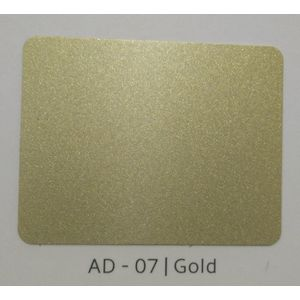 ALUDECOR ACP PANELS (SHEET SIZE 8 ft x 4 ft) - GOLD(AD07), grade al32
