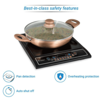 SmartBuy Induction Cooktop (Black, Push Button)