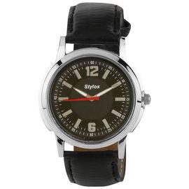 Stylox Black Stylish Watch(STX106)