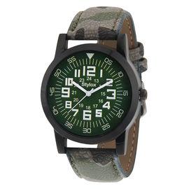 Stylox Classic Green Dial Watch