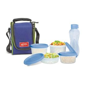 Full Meal 4 Combo - Milton - Plastic - Lunch Box