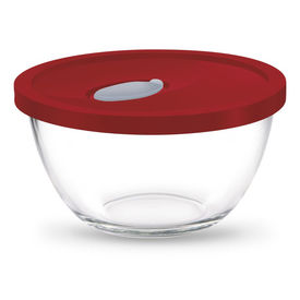 mixing bowl 3500 with flexi lid - Treo - Glass - Table