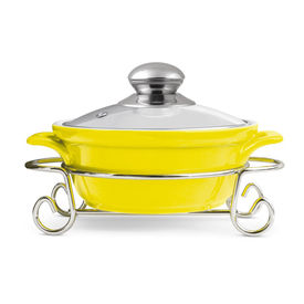 party perfect sizzle casserole 1500ml - Treo - Ceramic - Table Serve