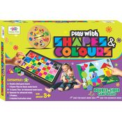 Play With SHAPES & COLOURS - BOARD GAMES FOR KIDS - TOYS & GAMES