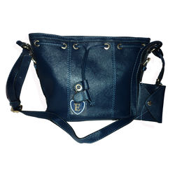 Quality handmade fashion bag, Blue