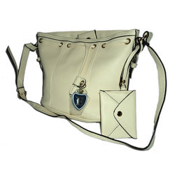 Quality handmade fashion bag, Beige
