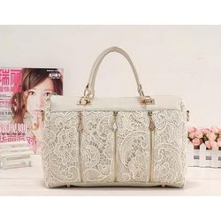 Fame handbag, White