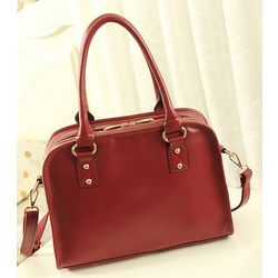 Handbag, Wine Red