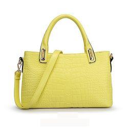 Women s handbag, Yellow