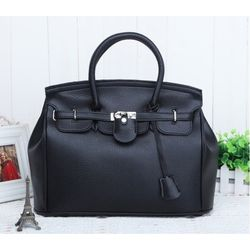 Fashion tote handbag, Black
