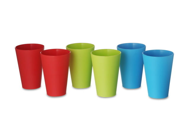 Glass Set, 300Ml, Set Of 6, multi color