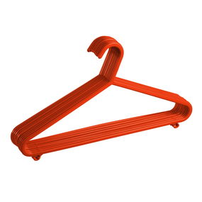 Hanger Set, Set Of 12,  red