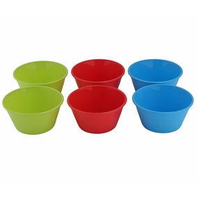 Treats Bowl (6 Pcs Set), multi color