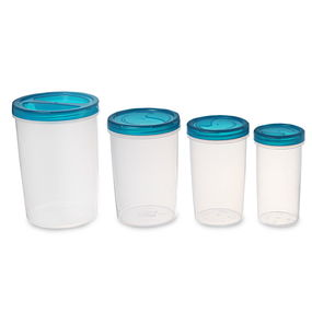 Elite Container Set Of 4, 4700 Ml,  blue