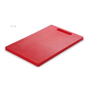 Chopping Board 37x25x2 cm,  red