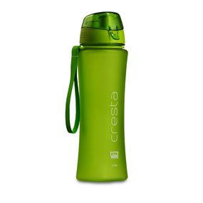 Cresta Sports Outdoor Polycarbonate Water Bottle, 650 ml,  green