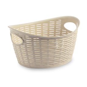 CRESTA OVAL BASKET 9 LTR, cream