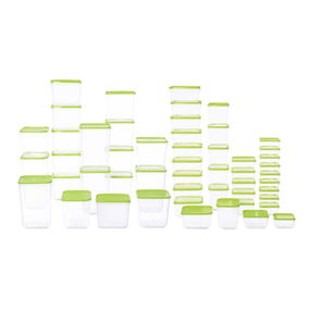 Polka Containers Set of 52,  green