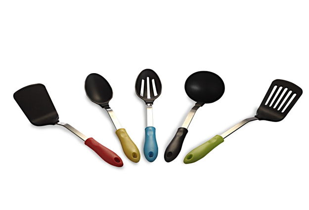 Kitchen Tool 5pc Set, multi color
