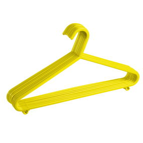 Hanger Set, Set Of 12,  yellow