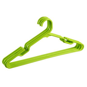 Hanger Set, Set Of 12,  green