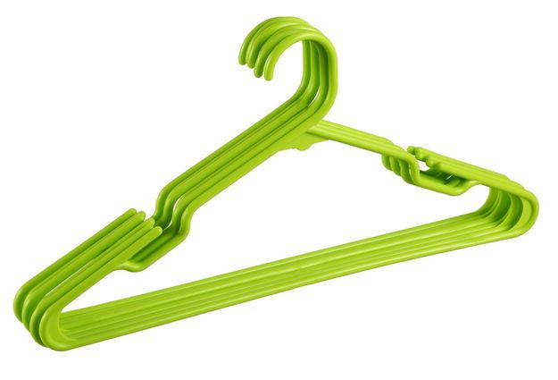 Hanger Set, Set Of 12,  green