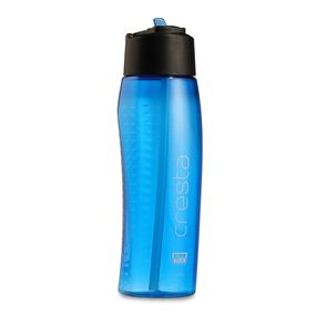 Cresta Spring Convenience Sports Gym Polycarbonate Water Bottle, 800 ml,  blue