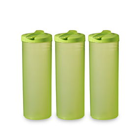 Freeze Bottle Set, 1 Litre, Set Of 3,  green