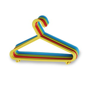 Kids Hanger Set, Set Of 12, multi color
