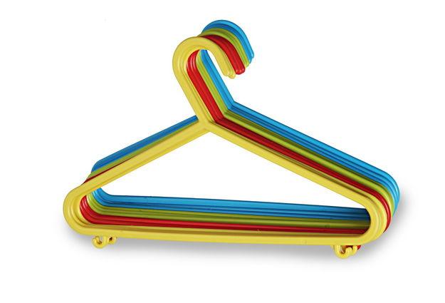 Kids Hanger Set, Set Of 12, multi color