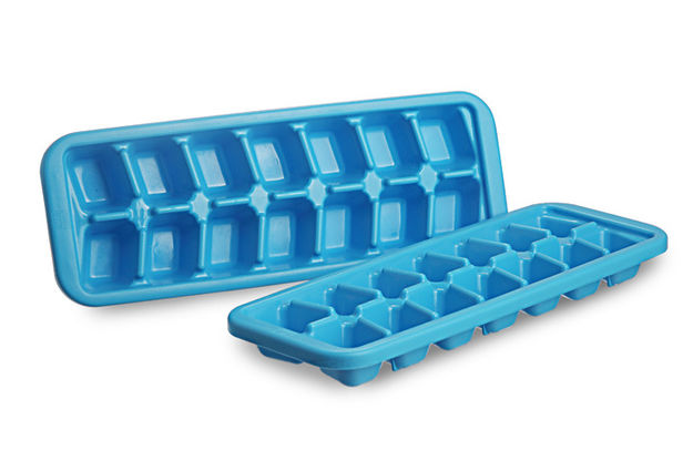 Cool Ice Cube Tray Set of 2,  red