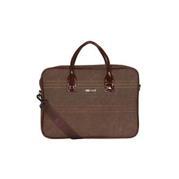 ESBEDA Stitch Line Laptop bag For mens & women,  brown