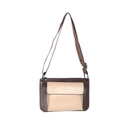 ESBEDA Solid Pattern Borse Sling Bag For Women,  beige