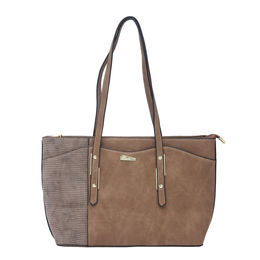 ESBEDA LADIES HANDBAG 18652,  brown