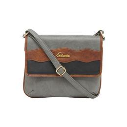 ESBEDA SLING BAG AZ17062017,  grey-tan-black