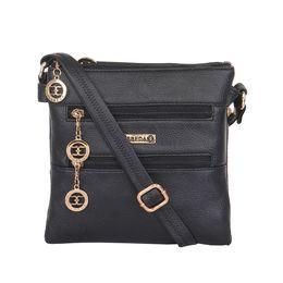 ESBEDA LADIES SLING BAG MA220716,  black