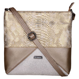 ESBEDA LADIES SLINGBAG A00100049-18,  gold-cream