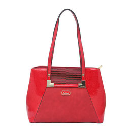 ESBEDA LADIES HANDBAG 18745,  red