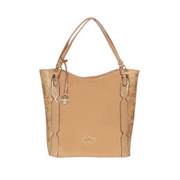 ESBEDA Solid Pattern Chevron Hobo Handbag For Women,  khaki